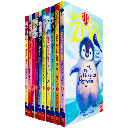 Zoe's Rescue Zoo 10 Books Collection Set by Amelia Cobb - The Book Bundle