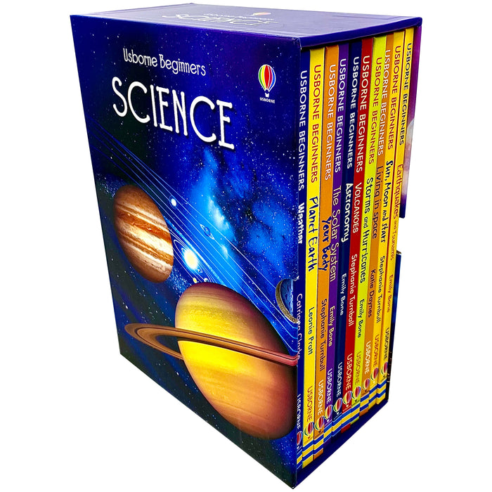 Usborne Beginners Science 10 Books Collection Box Set - The Book Bundle
