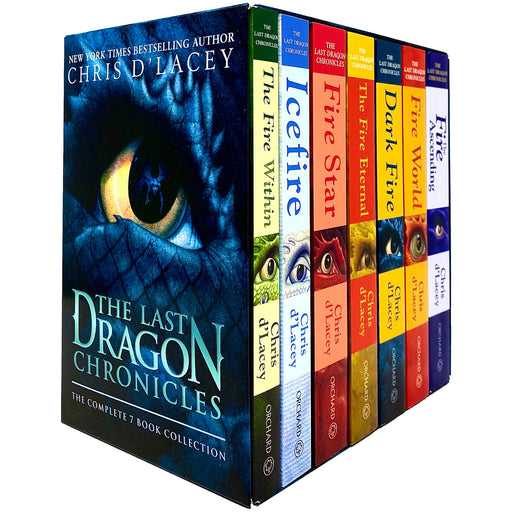 The Last Dragon Chronicles Series Complete 7 Books Collection Box Set by Chris d'Lacey - The Book Bundle