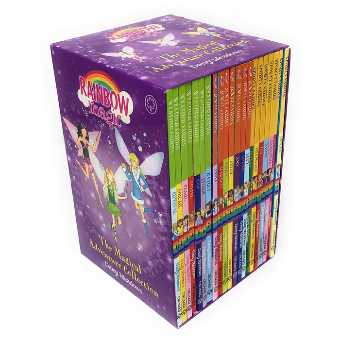 Rainbow The Magical Adventure Collection 21 Books Set Including 3 Series (Weather Fairies, Jewel Fairies & Sporty Fairies) - The Book Bundle