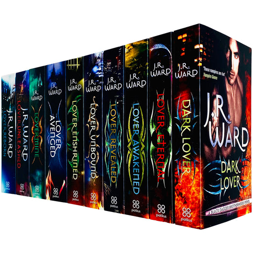 Black Dagger Brotherhood World Series Books 1 - 10 Collection Set by J.R. Ward (Dark Lover, Eternal, Awakened, Revealed) - The Book Bundle