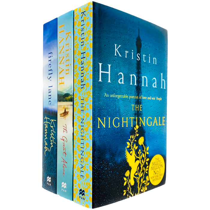 Kristin Hannah 3 Books Collection Set (The Nightingale, The Great Alone & Firefly Lane) - The Book Bundle