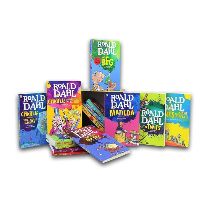 Roald Dahl 15 Books Box Set Collection - The Book Bundle