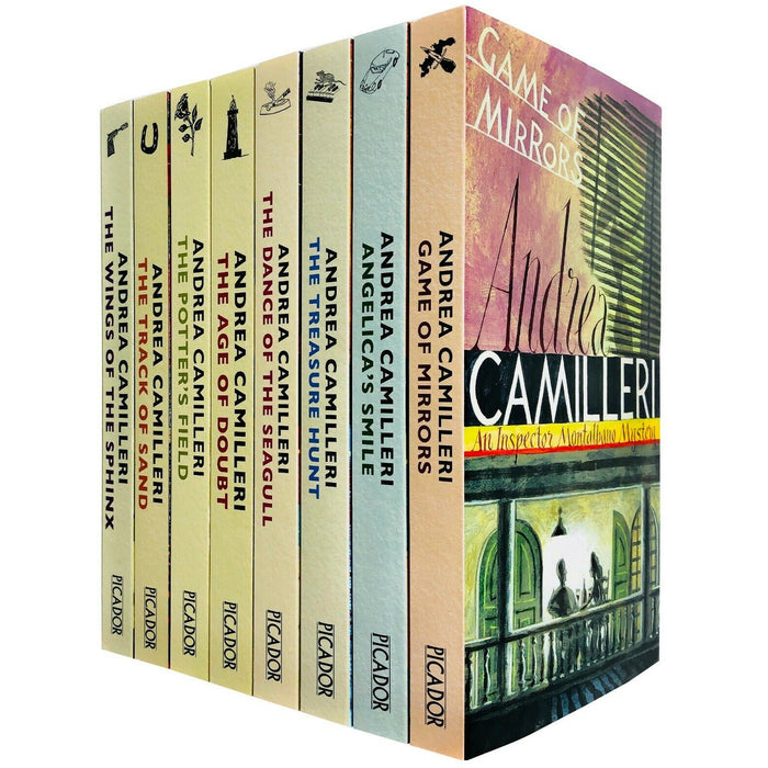 Inspector Montalbano Mysteries Series 2 Books 11 -18 Collection Set PB - The Book Bundle