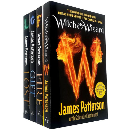 James Patterson 4 Books Collection Set Witch & Wizard Series - The Book Bundle