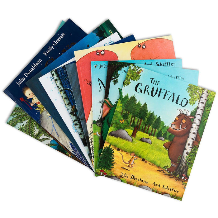 Julia Donaldson X10 Books Collection Set - The Book Bundle