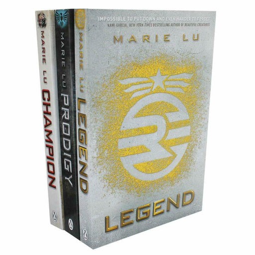 Legend Trilogy Series Collection Marie Lu 3 Books Set Prodigy, Champion NEW UK - The Book Bundle