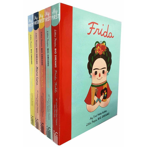 Little people Big dreams Series 1 Collection 5 books Set,Maya Angelou NEW - The Book Bundle