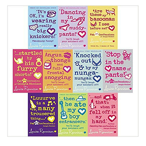 Louise Rennison Georgia Nicolson Series Collection 10 books Set NEW Paperback - The Book Bundle