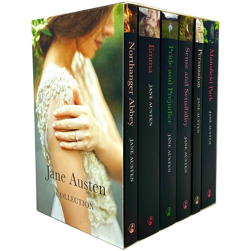 Jane Austen Complete 6 Books Collection Box Set Northanger Abbey, Emma - The Book Bundle
