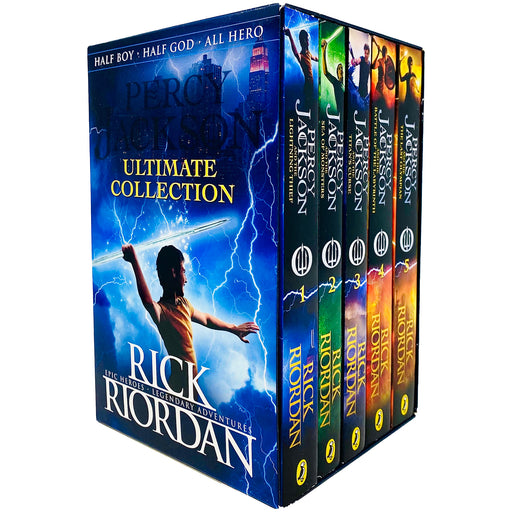 Percy Jackson Ultimate Collection 5 Books Box Set by Rick Riordan - The Book Bundle