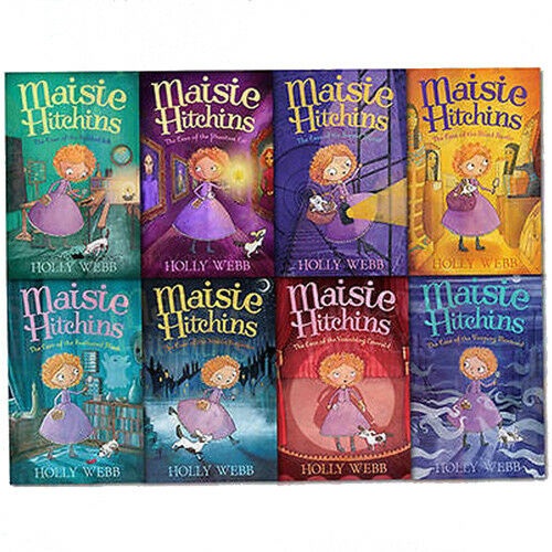 Maisie Hitchins Series 8 Books Collection Set By Holly Webb Paperback NEW - The Book Bundle