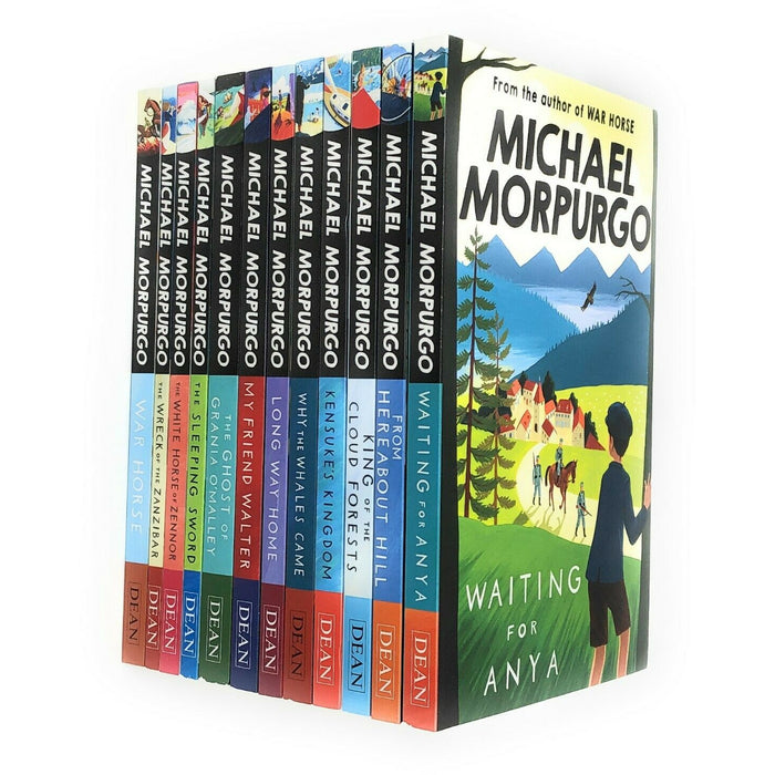 Michael Morpurgo Waiting for Anya,12 Books Collection Set Paperback NEW - The Book Bundle