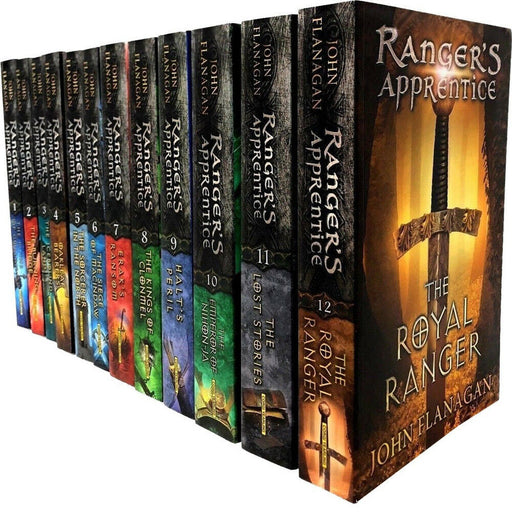 Rangers Apprentice Series Gorlan Oakleaf 12 Books by John Flanagan Paperback NEW - The Book Bundle