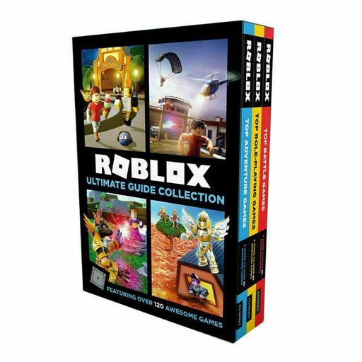 Roblox Ultimate Guide 3 Books Children Collection Set by Egmont NEW Pack - The Book Bundle