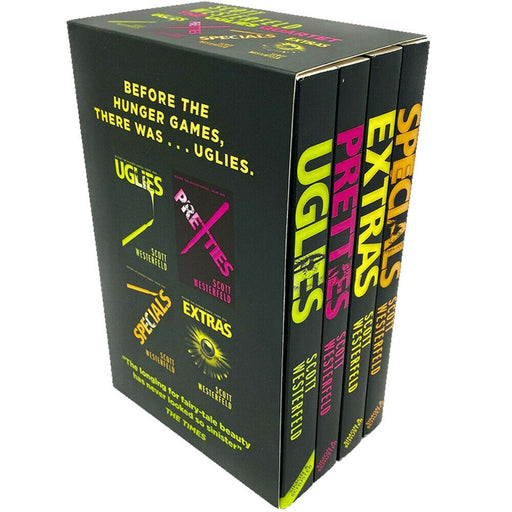 Scott Westerfeld Uglies Series Collection 4 Books Box Set Pack,Pretties,Specials - The Book Bundle