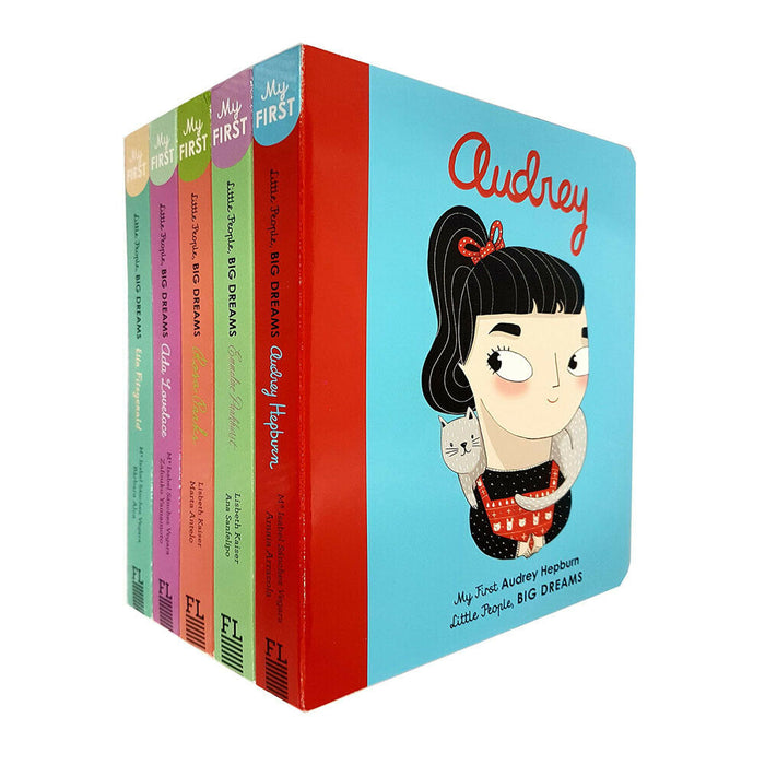 Little People, Big Dreams Series 2 : 5 Books Collection Bundle Set ( Rosa Parks, Emmeline Pankhurst, Ella Fitzgerald,Audrey Hepburn, Ada Lovelace) - The Book Bundle
