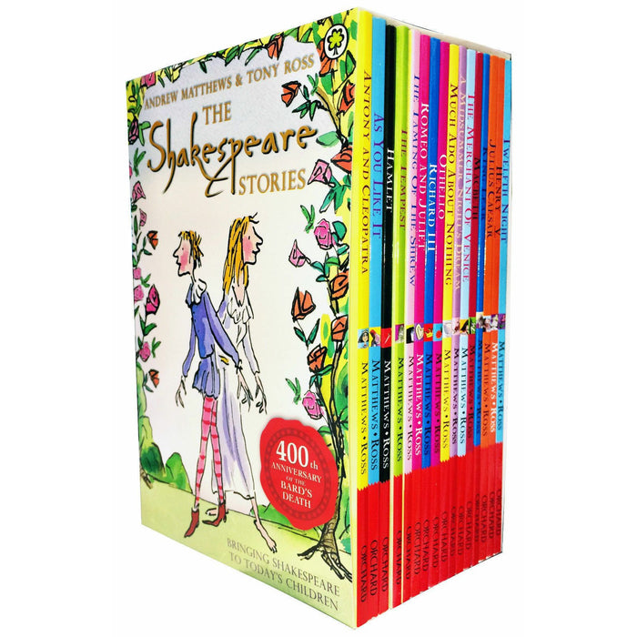 Shakespeare Children's Stories 400 Anniversary Collection 16 Books Set Hamlet - The Book Bundle