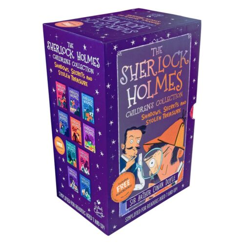 Sir Arthur Conan Doyle Sherlock Holmes 10 Books Box Set Children Collection - The Book Bundle