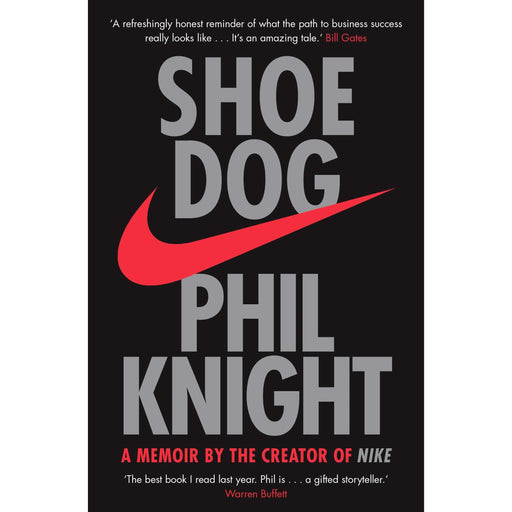 Shoe Dog: A Memoir by the Creator of NIKE Paperback - The Book Bundle