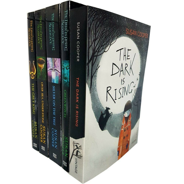 Susan Cooper The Dark is Rising Greenwitch 5 Books Collection set Paperback - The Book Bundle