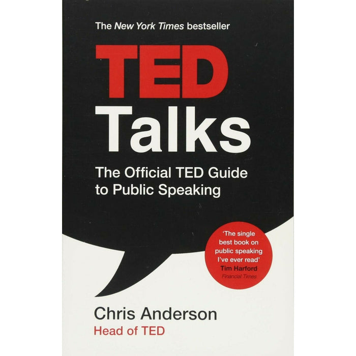 TED Talks By Chris Anderson official TED guide to public speaking Paperback - The Book Bundle