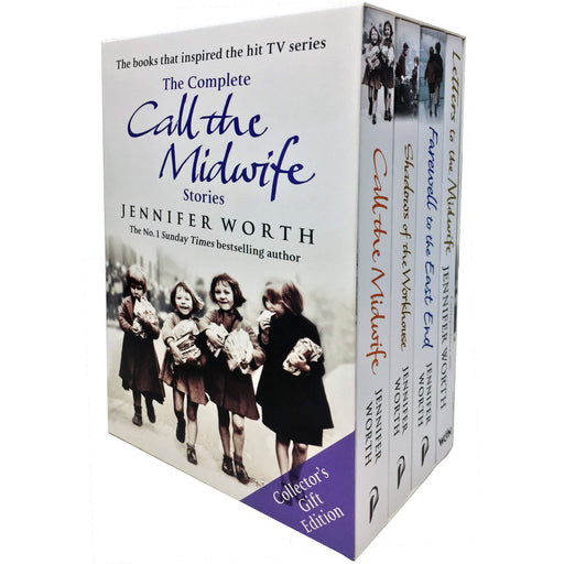 The Complete Call the Midwife Stories Jennifer Worth 4 Books Collection Collector's Gift-Edition (Shadows of the Workhouse) Paperback - The Book Bundle