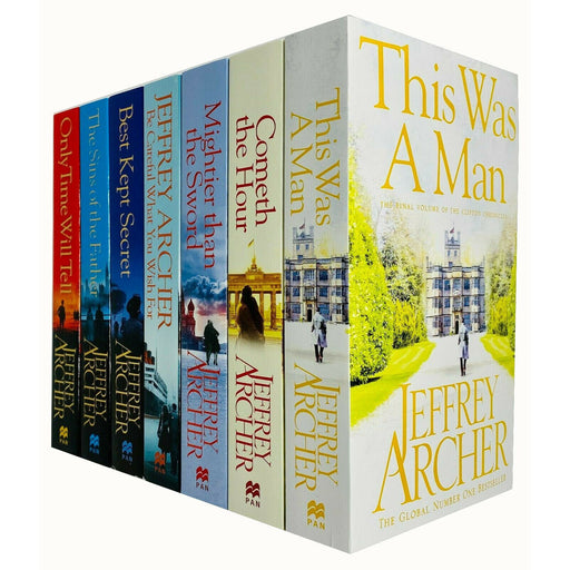 The Complete Clifton Chronicles Series 7 Books Collection Set by Jeffrey Archer - The Book Bundle