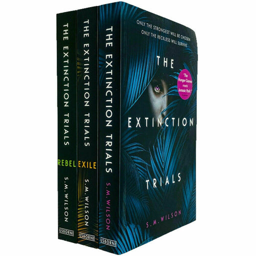 The Extinction Trials Series 3 Books Collection Set By S.M.Wilson(The Extinction Trials,The Extinction Trials: Exile,The Extinction Trials: Rebel) - The Book Bundle