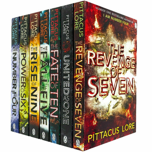 The Lorien Legacies Series By Pittacus Lore 7 Books Collection Set Rise of Nine - The Book Bundle