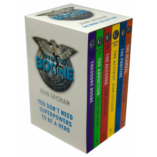 Theodore Boone Series 6 Books Collection Box Set by John Grisham Paperback NEW - The Book Bundle