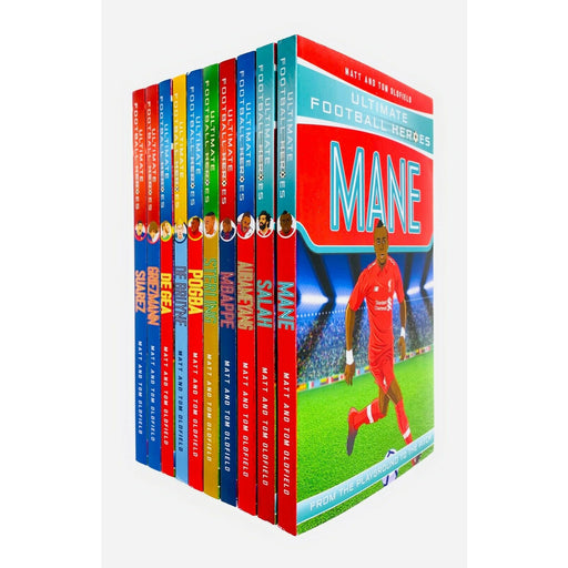 Ultimate Football Heroes Series 2 - 10 Books Collection Set - The Book Bundle