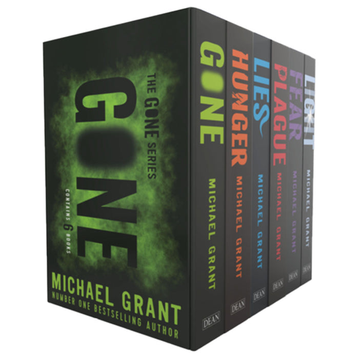 Gone Series 6 Books Collection Box Set by Michael Grant (Gone, Hunger, Lies, Plague, Fear & Light) - The Book Bundle