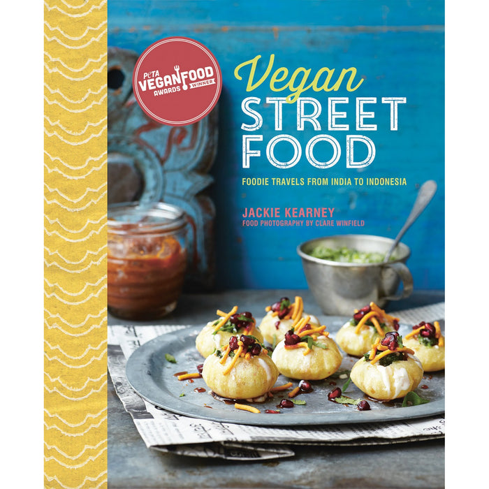 Vegan Street Food Foodie travels from India to Indonesia by Jackie Kearney [HB] - The Book Bundle