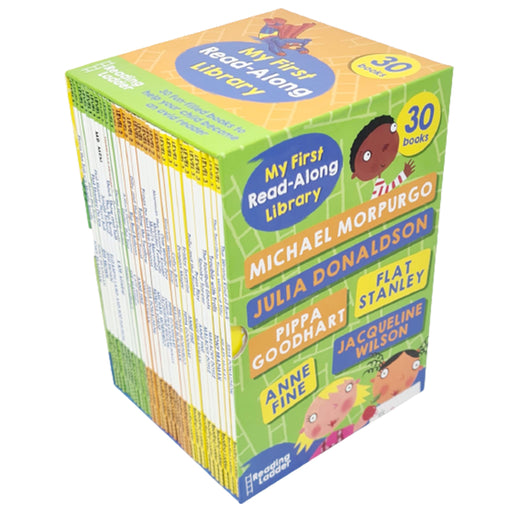 My First Read-Along Library 30 Books Collection Box Set Reading Ladder Level 1 - The Book Bundle