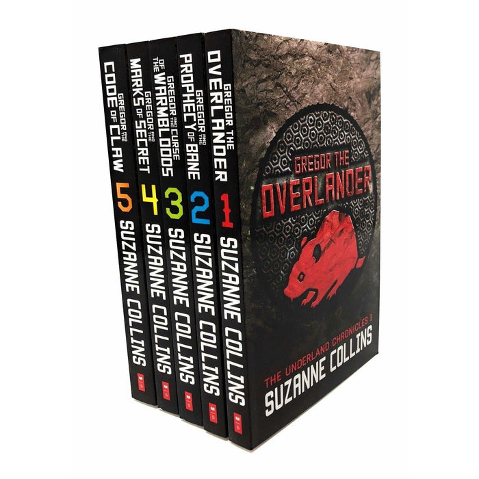 Underland Chronicles Pack,5 books(Gregor the Overlander;Gregor and the Prophecy;Gregor and the Curse;Gregor and the Marks;Gregor and the Code) - The Book Bundle