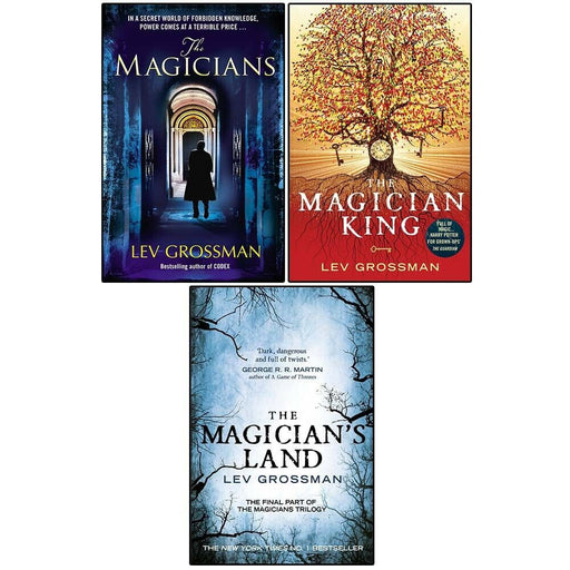 The Magicians Book Series by Lev Grossman, Contemporary Fantasy 3 Books Collection Set - The Book Bundle