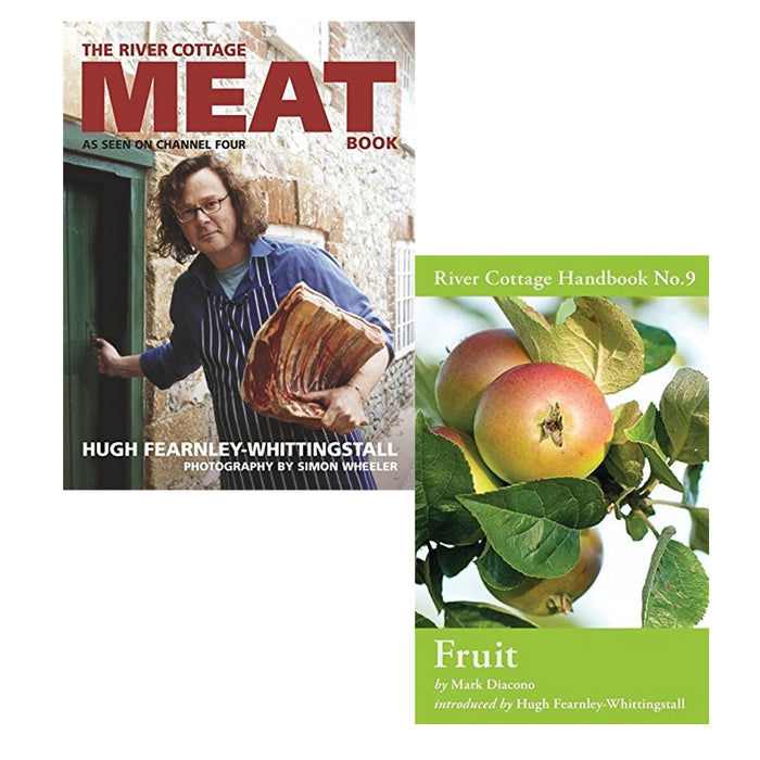 fruit and the river cottage meat book 2 books collection set - The Book Bundle
