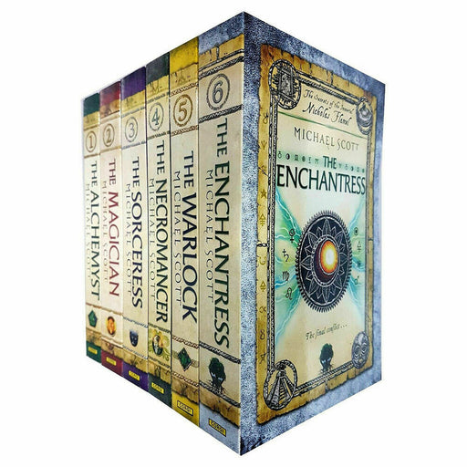 The Secrets of the Immortal Nicholas Flamel Series 1-6 Books Collection Set NEW - The Book Bundle