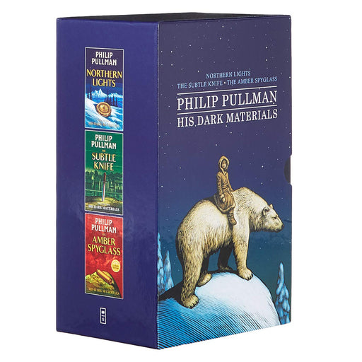 His Dark Materials Trilogy 3 Books Collection Set by Philip Pullman (Northern Lights, The Subtle Knife, The Amber Spyglass) - The Book Bundle