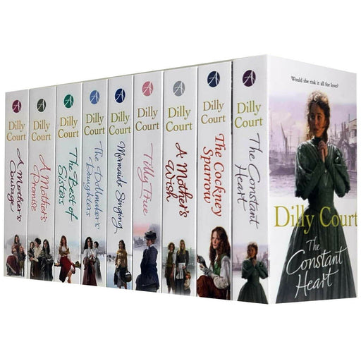 Dilly Court Collection 9 Books Set - The Book Bundle