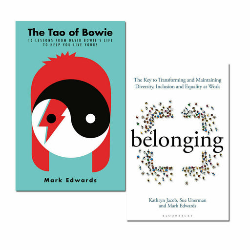 Mark Edwards 2 Books Collection Set (The Tao of Bowie,Belonging The Key) - The Book Bundle