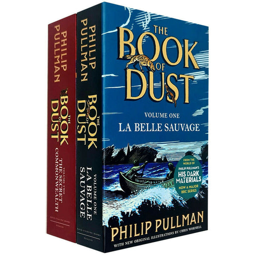 Philip Pullman Book of Dust 2 Books Collection Set (La Belle Sauvage [Paperback], The Secret Commonwealth [Hardcover]) - The Book Bundle