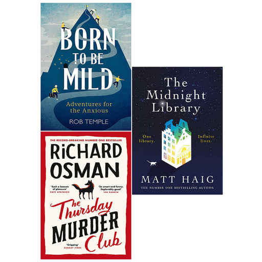 Born to be Mild, Thursday Murder Club, Midnight Library 3 Books Collection Set - The Book Bundle