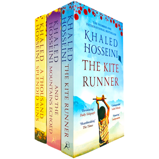 Khaled Hosseini Collection 3 Books Set - The Book Bundle