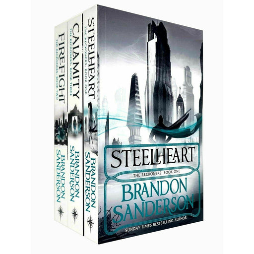 Brandon sanderson reckoners series 3 books collection set - The Book Bundle