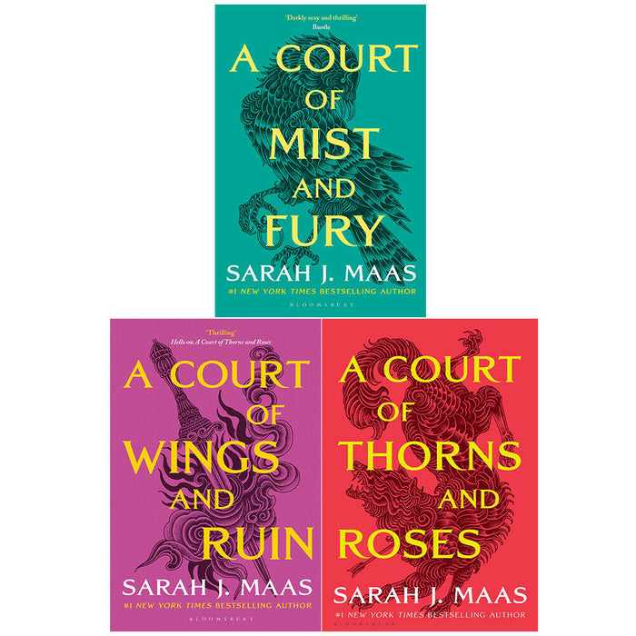 A Court of Thorns and Roses Series Sarah J. Maas Collection 3 Books Set - The Book Bundle