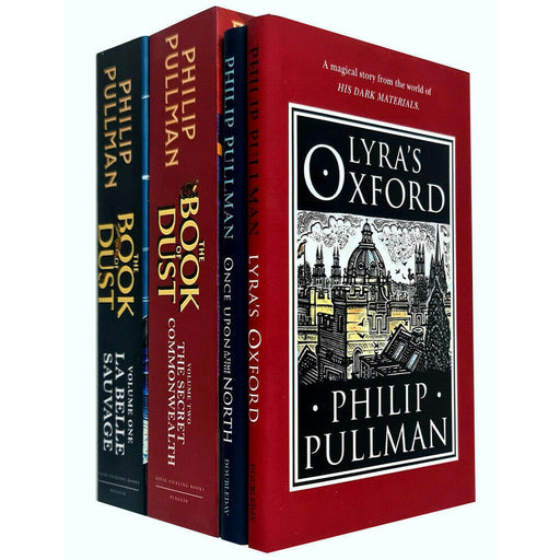 Philip Pullman 4 Books Collection Set His Dark Materials & Book of Dust Series - The Book Bundle