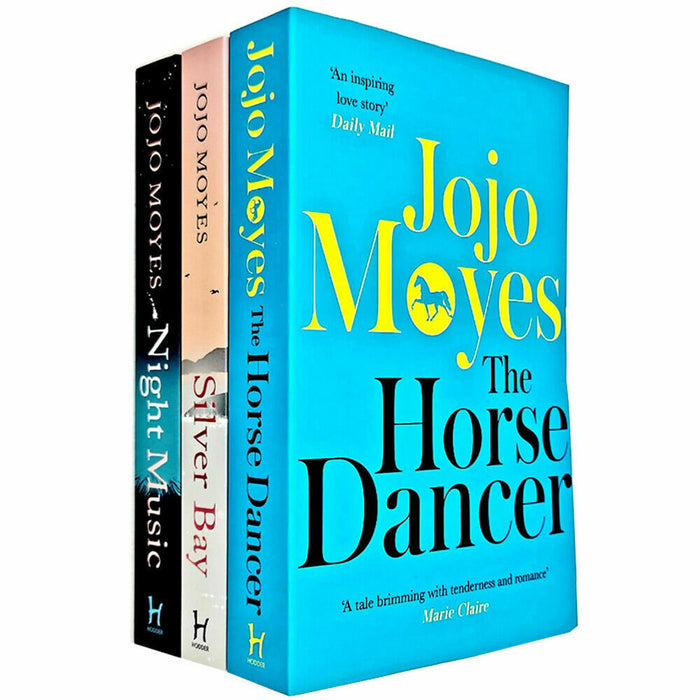 Jojo Moyes Collection 3 Books Set (The Horse Dancer, Silver Bay, Night Music) - The Book Bundle