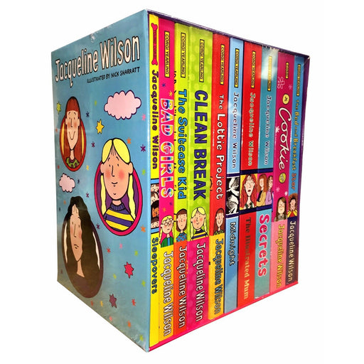 Jacqueline Wilson 10 books Bundle collection Set Pack (The Story Of Tracy Beaker, Starring Tracy Beaker) - The Book Bundle